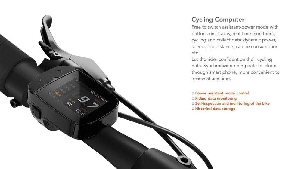 Qicycle tdr z folding moped electric bike e bike from xiaomi