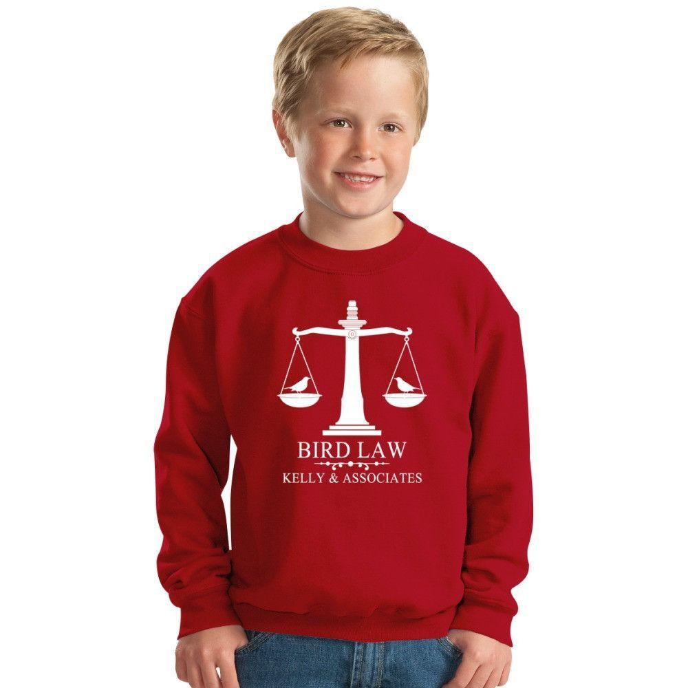 Bird Law Kids Sweatshirt