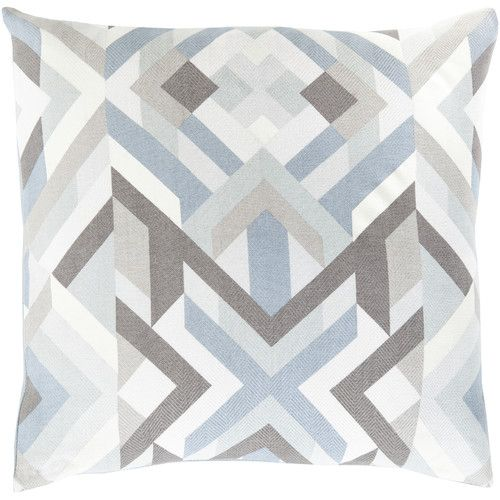 Found it at AllModern - Geometric Cotton Throw Pillow