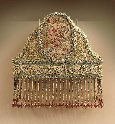 Antique Headboard Lamp