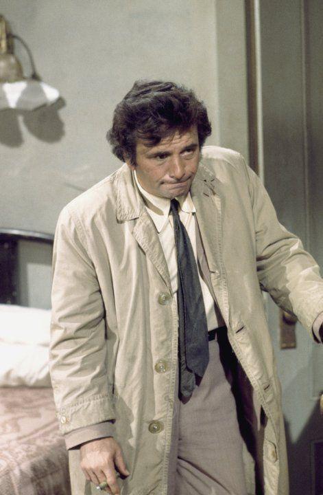 Peter Falk in Columbo (1971)