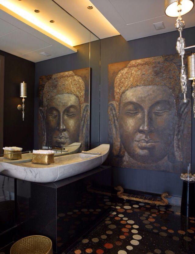 Bathroom Asian Style   Diseño de baños, Baño asiático ...