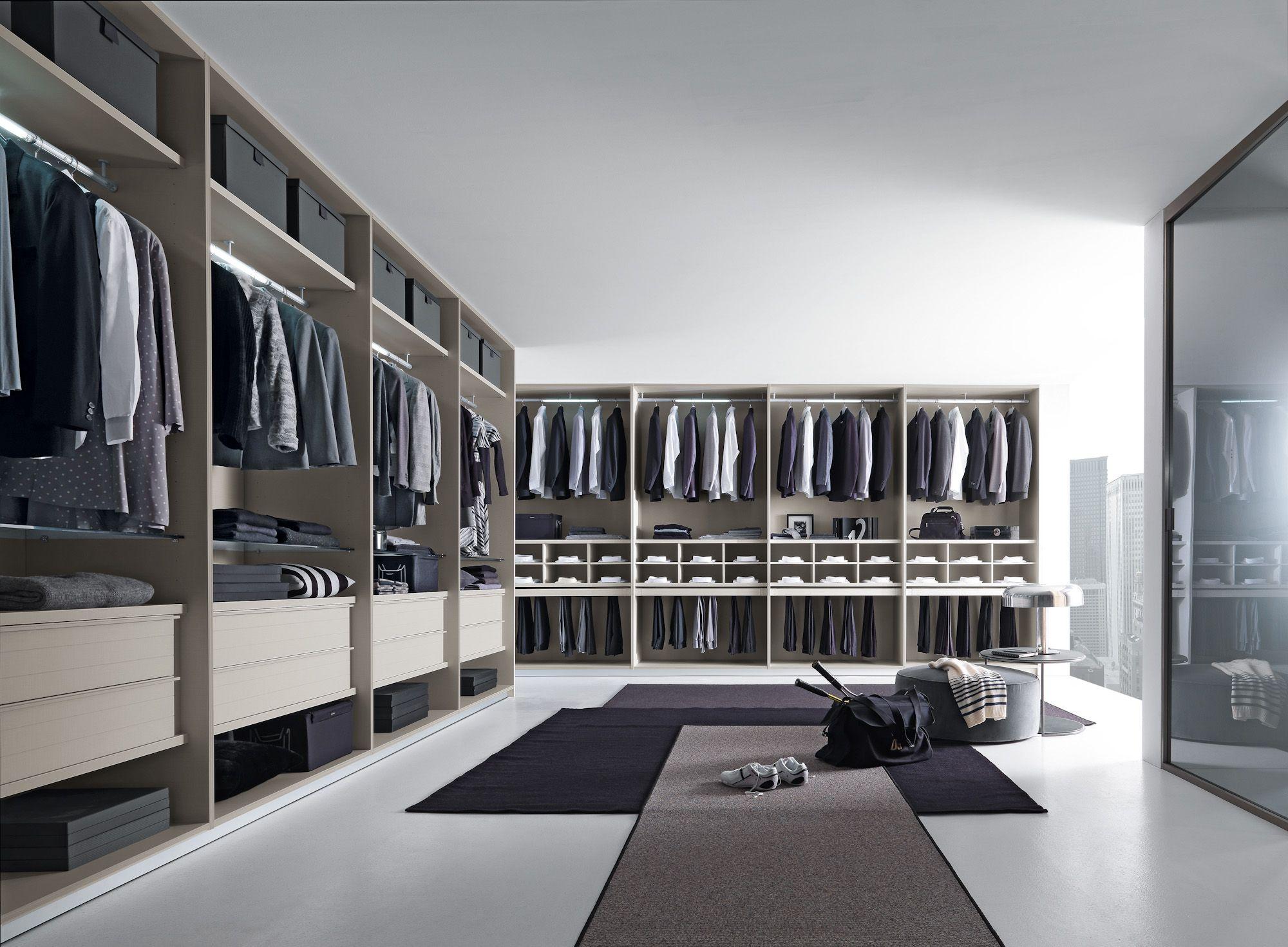 begehbarer Kleiderschrank | auf Maß gefertigt - bei Möbel Morschett