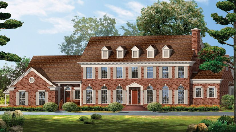 Georgian Home Plans - Georgian Style Home Designs from ...