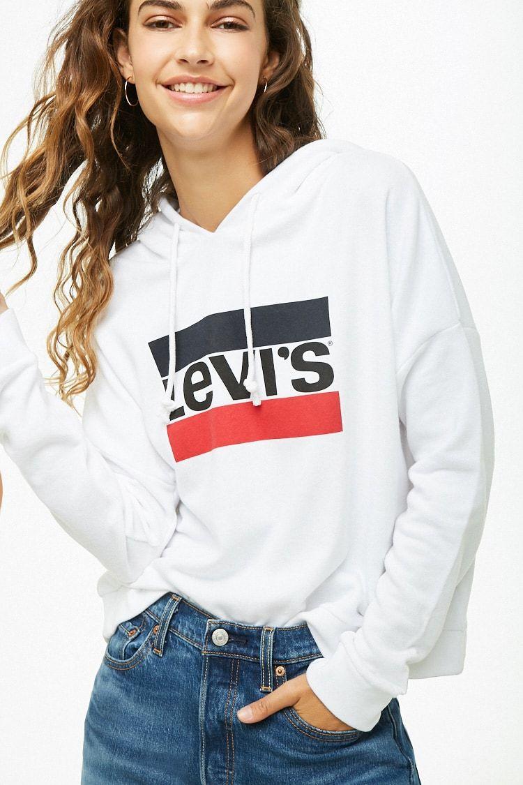 Levis Track Hoodie Women Hoodies Sweatshirts Hoddies Outfits Sweatshirts [ 1125 x 750 Pixel ]