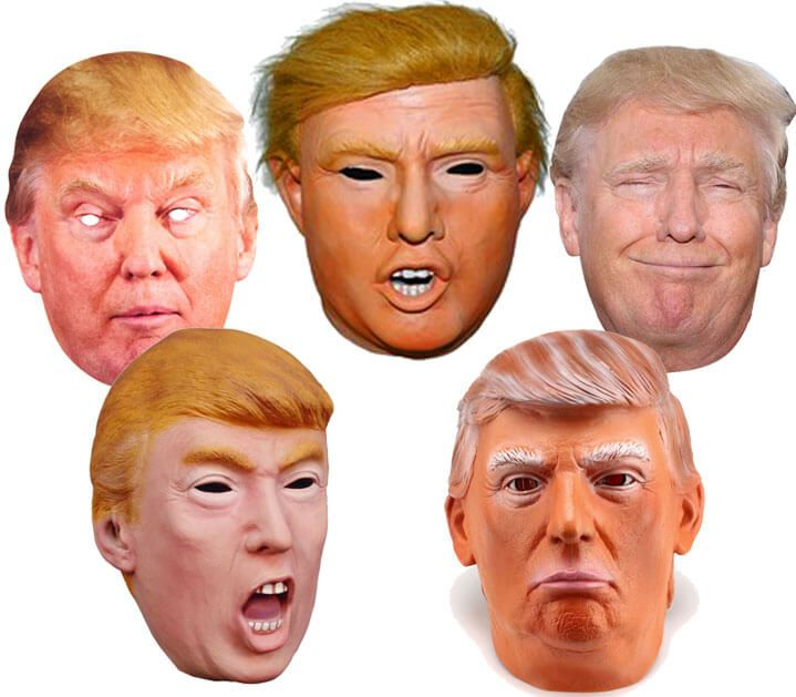 Make White Elephant Gifts Great Again with a Donald Trump mask ...