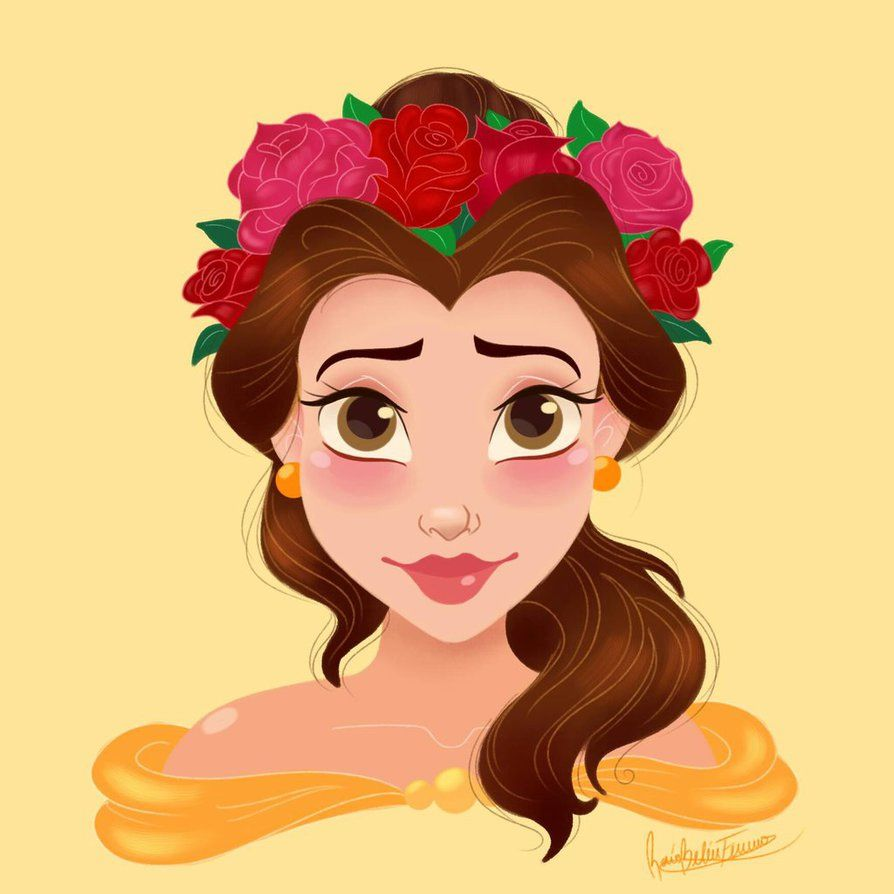 Flower Crown Drawings Tumblr Princesses