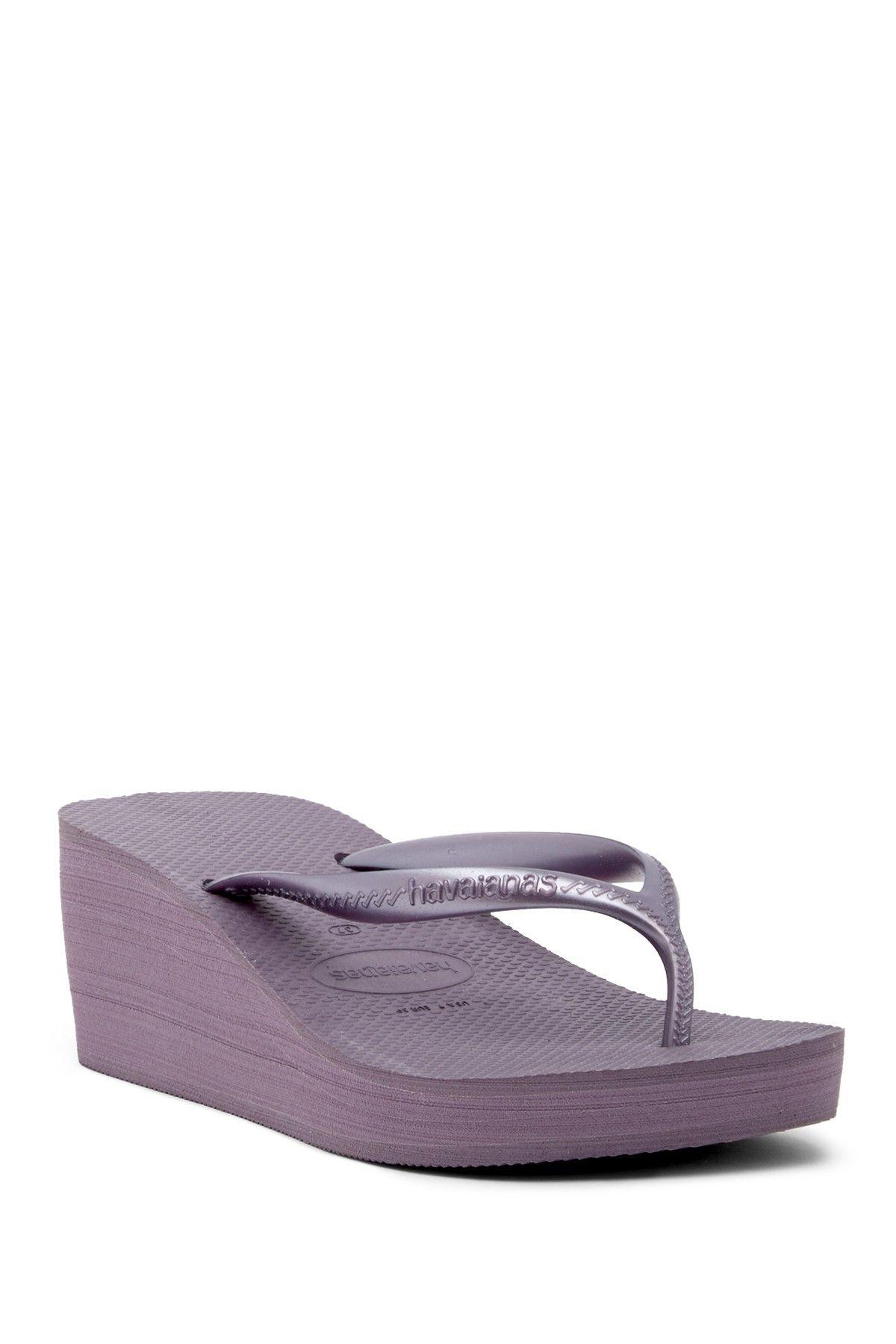 fa4cddcebf588b High Fashion Platform Wedge Flip Flop Sandal (Women)