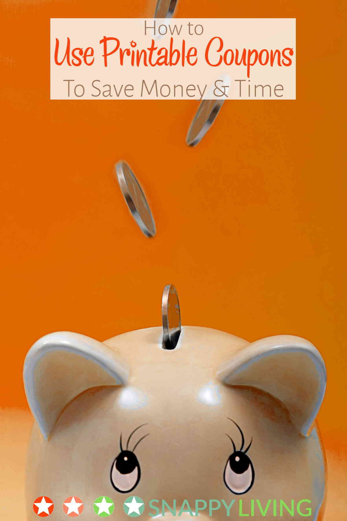 How To Use Printable Coupons To Save Money And Time