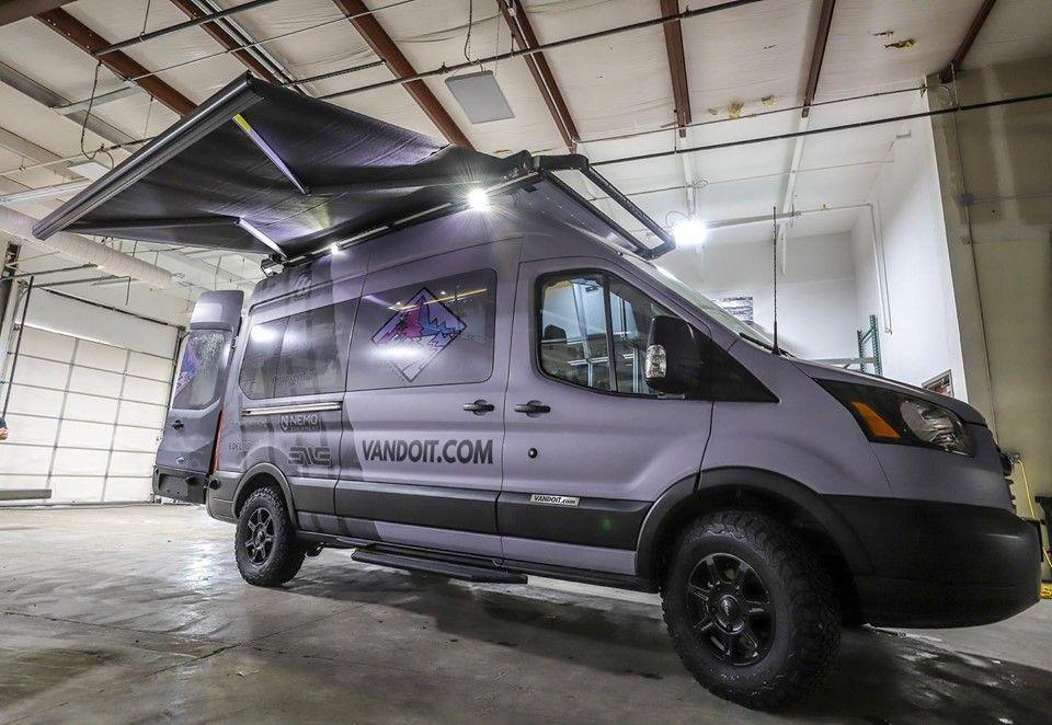 Vandoit Ford Transit Camper Vans Made In Blue Springs Missouri