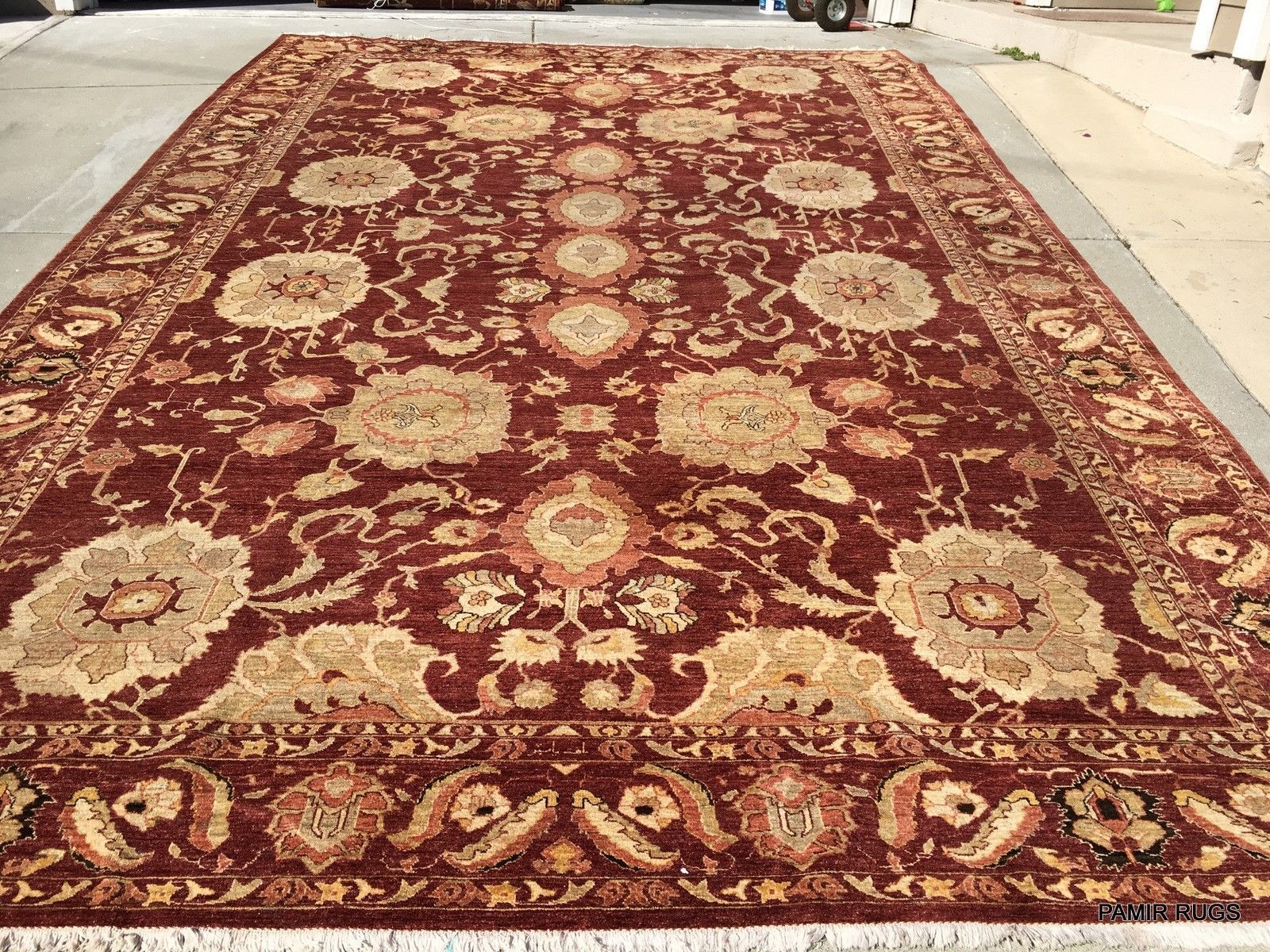 Close Out Sale 11 X 17 Handmade Fine Quality Wool Area Rug