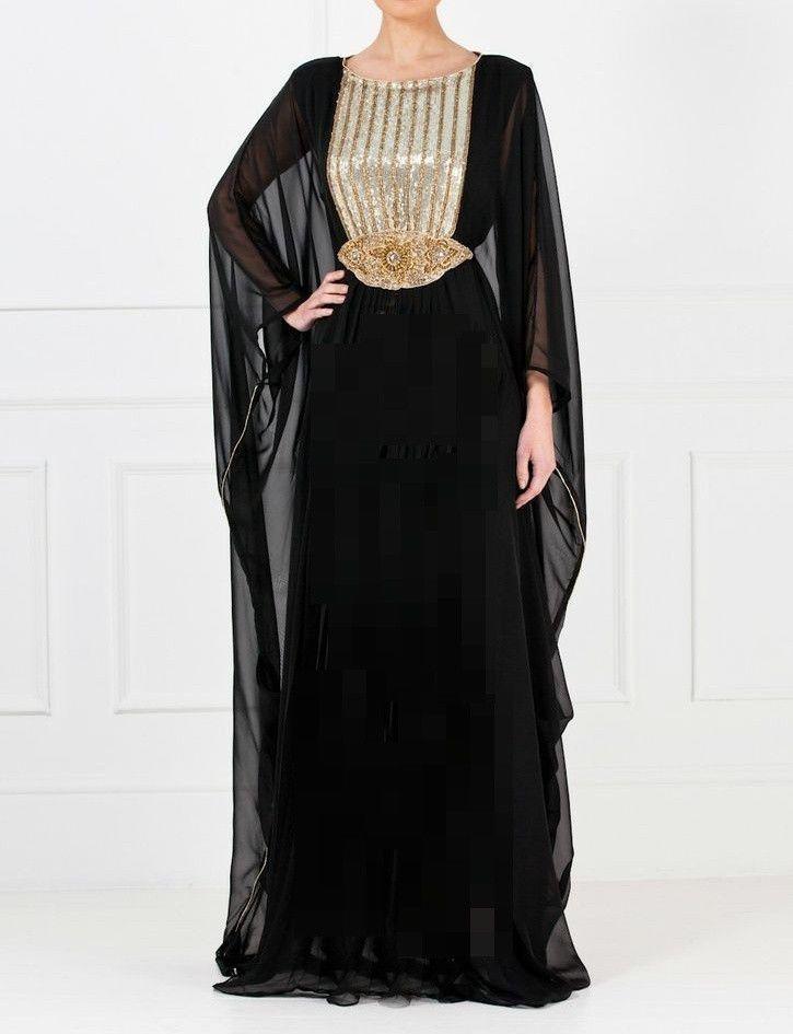 DUBAI VERY FANCY KAFTANS / abaya jalabiya Ladies Maxi Dress Wedding ...