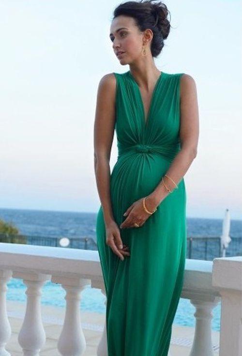 Zwangerschapskleding Gala.Seraphine Maxi Zwangerschapsjurk Jo Green Kleren Pregnant
