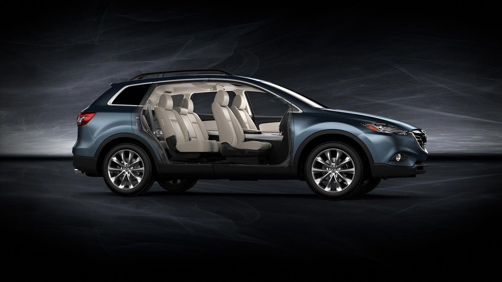2014 Mazda Cx 9 7 Passenger Crossover Suv Mazda Usa In Blue Reflex With Sand Interior Affordableinteriordesignersatlanta Mazda Cx 9 Suv Crossover Suv
