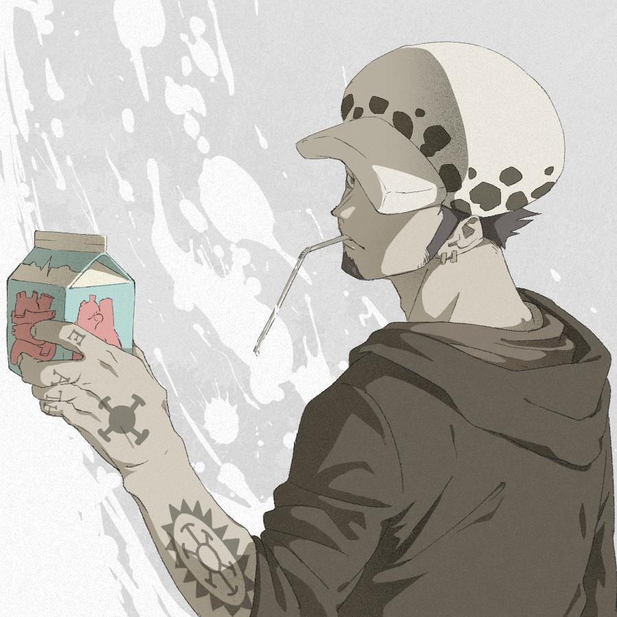 ももも on twitter trafalgar law one piece fanart one piece manga