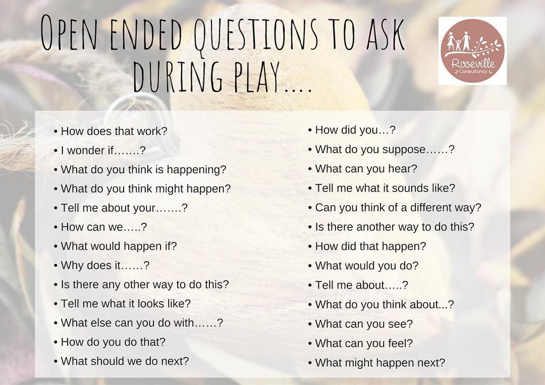 Asking Open Ended Questions At Roseville Childcare We Like To See Our Role With The Open Ended Questions This Or That Questions Letter Activities Preschool