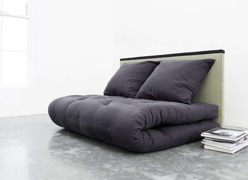 Canape Lit Avec Futon Violet Sano Canape Design Mobilier De Salon Meuble Design