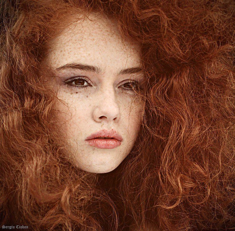 Photography by sergiu cioban pelirrojas pecas y cabello - Dowling iluminacion ...