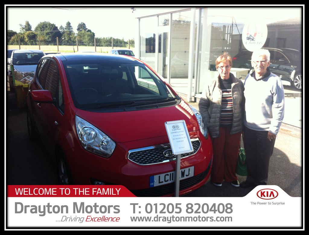 Mr and Mrs Butwright collecting their 3rd car from Adrian | by draytonkia
