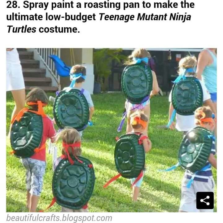 That would cute for a ninja turtle party!