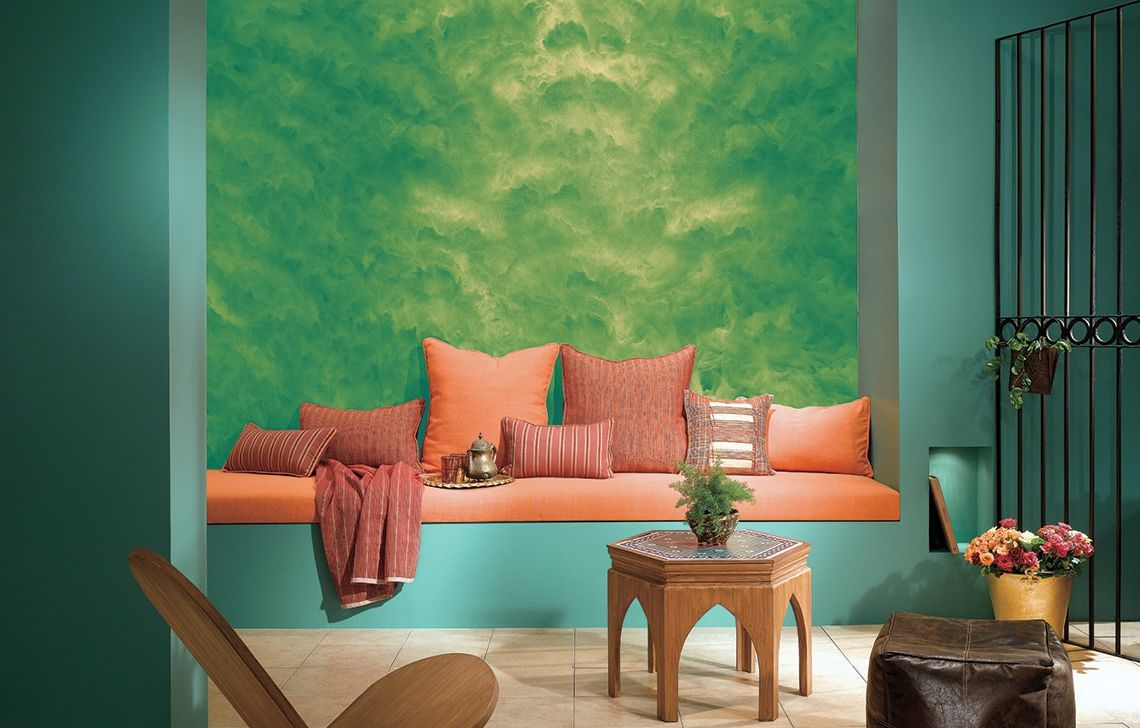 Asian paints latest bedroom wall texture designs royale - Designer wall paints for living room ...