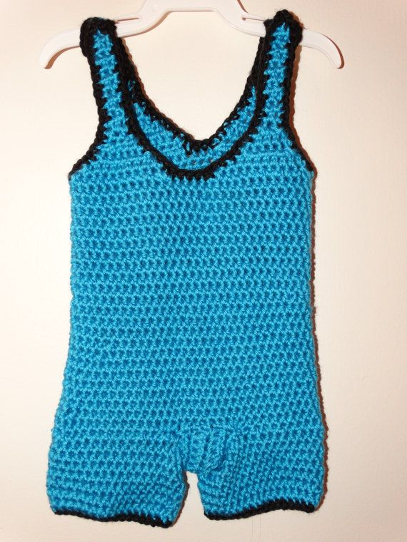 Ready To Ship Baby Boy Infant Wrestling Singlet In Green For Photo