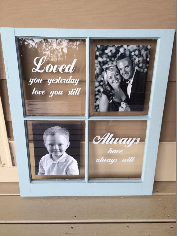 Repurposed 4 Pane Window As Wall Hanging Picture Frame With Love Quote Size Is 24 Wide X 28 High Blank Window Frame Picture Window Frame Crafts Window Crafts