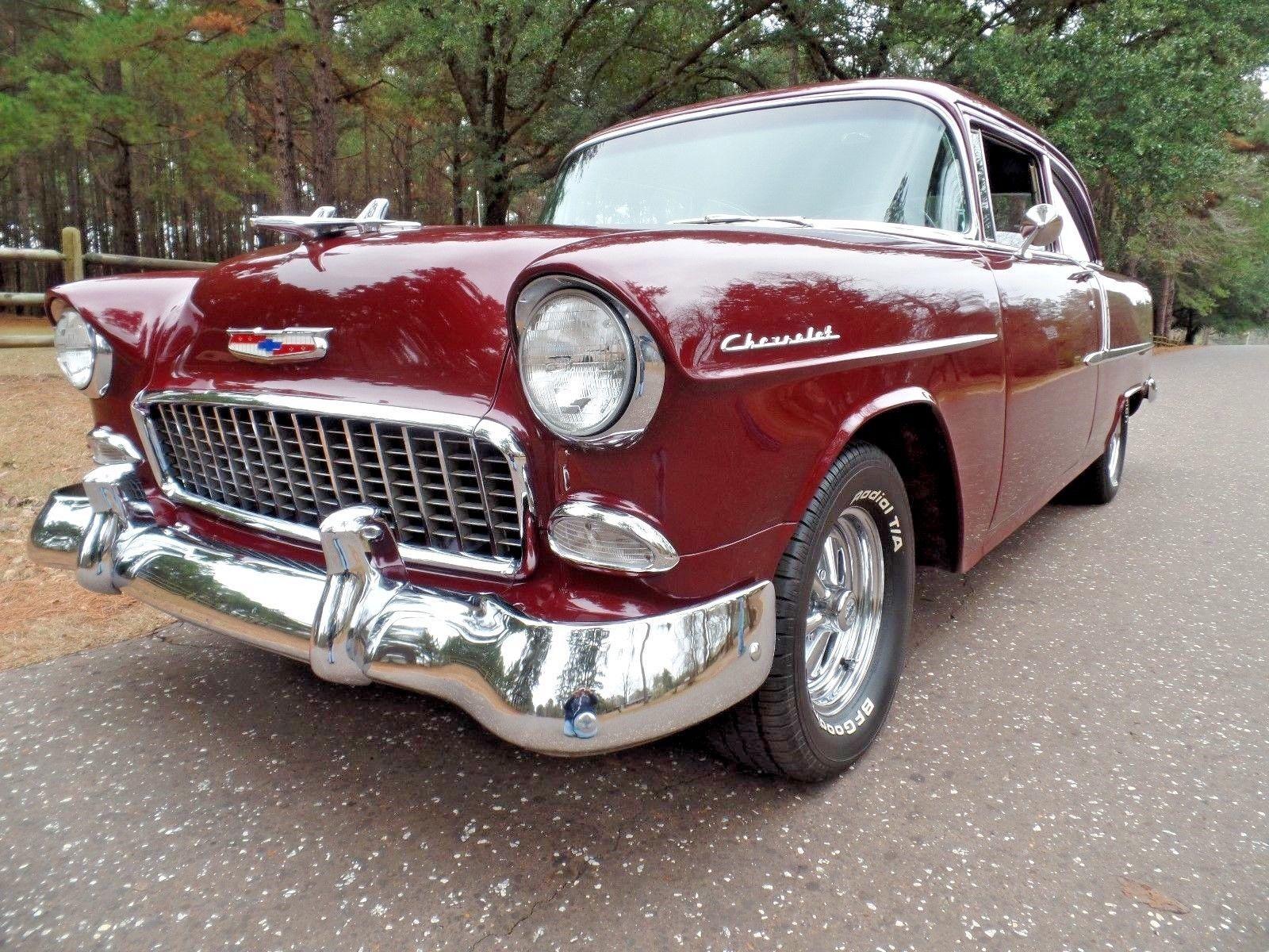 1955 Chevrolet Bel Air 150 210 VINTAGE 60 s LOOK STREET ROD POST
