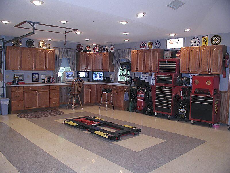 part of the in garage. Garage Man