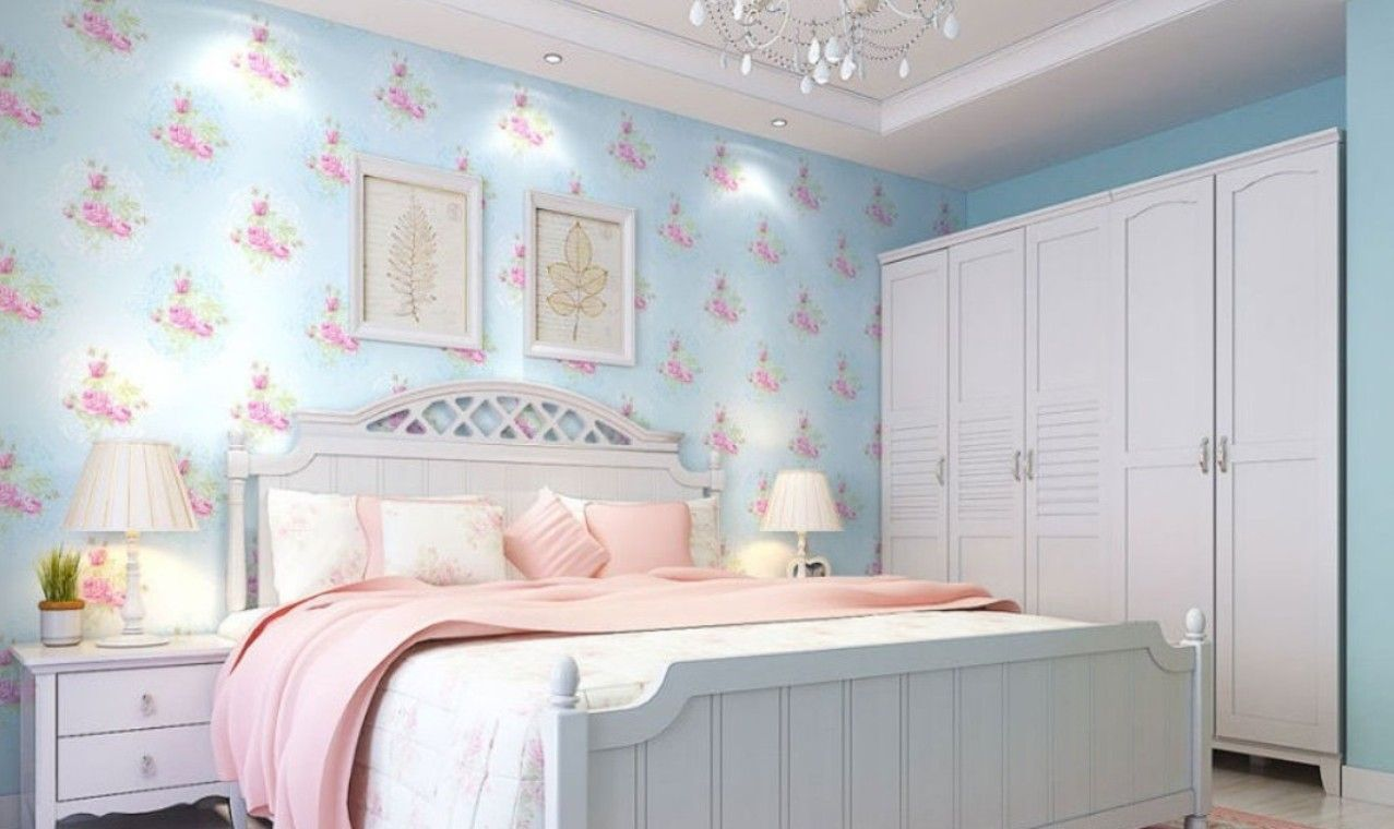 Bedroom Turquoise And Pink Bedroom Design For Girl White