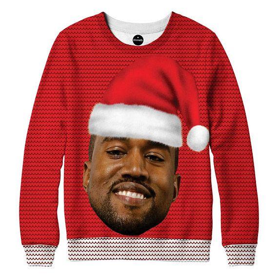 kanye west christmas sweater