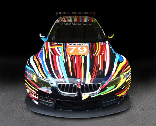 Bmw M3 Gt2 Art Race Car Artwork By Jeff Koons Avec Images