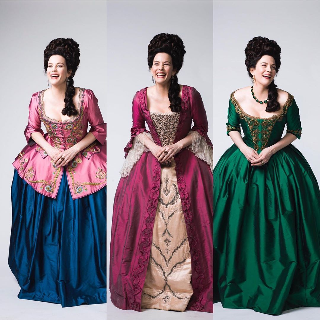 Richard Cooke On Instagram You Ve Got To Laugh Misslivalittle Enjoying Herself And Looking Rel 18th Century Costume 18th Century Fashion Historical Dresses