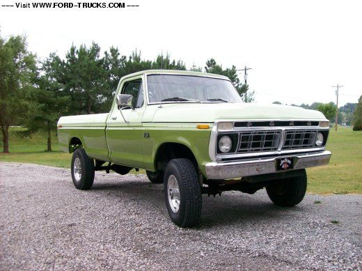 1974 F250 Highboy Truck 1974 Ford F250 4x4 1974 Highboy Resto