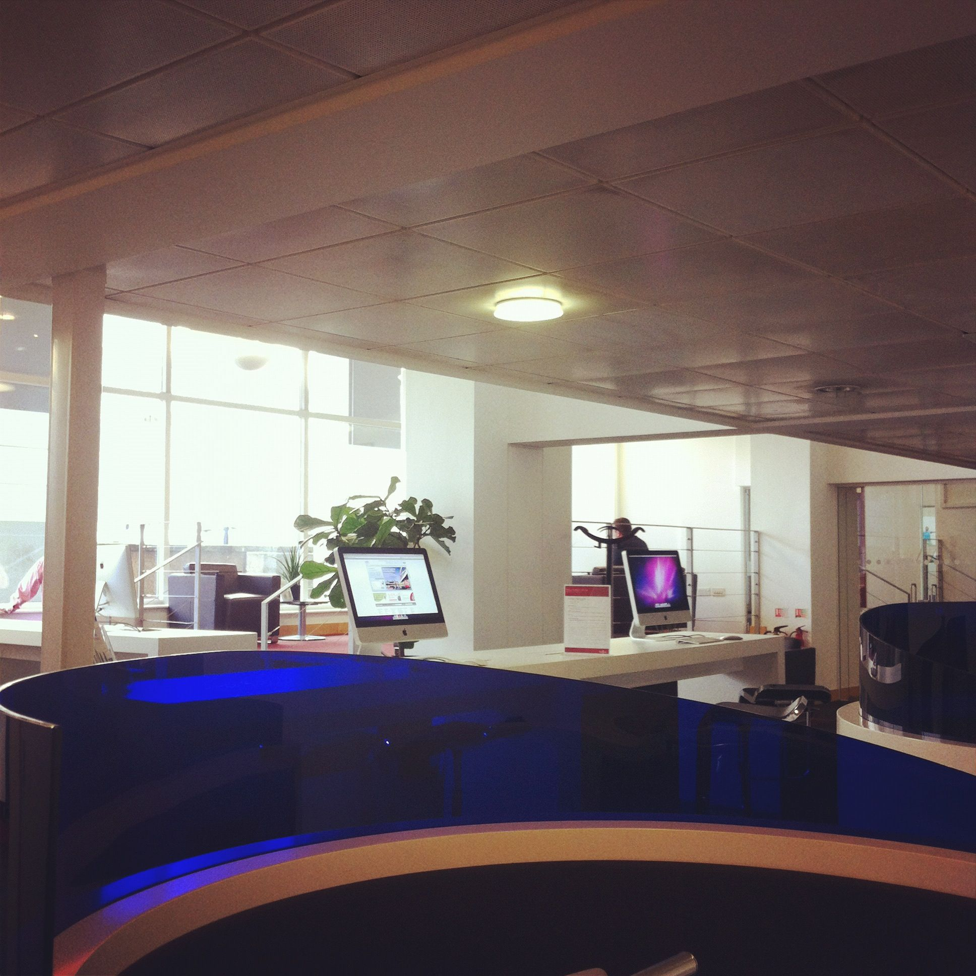 Another view from the business lounge at regus vic