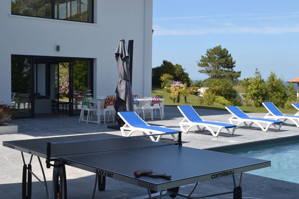 Lafitenia Resort Location De Villa De Luxe A Saint Jean De Luz Proche Biarritz Sur La Cote Basque Location Villa Villa Biarritz