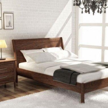 Ensemble de chambre à coucher en merisier de style contemporain