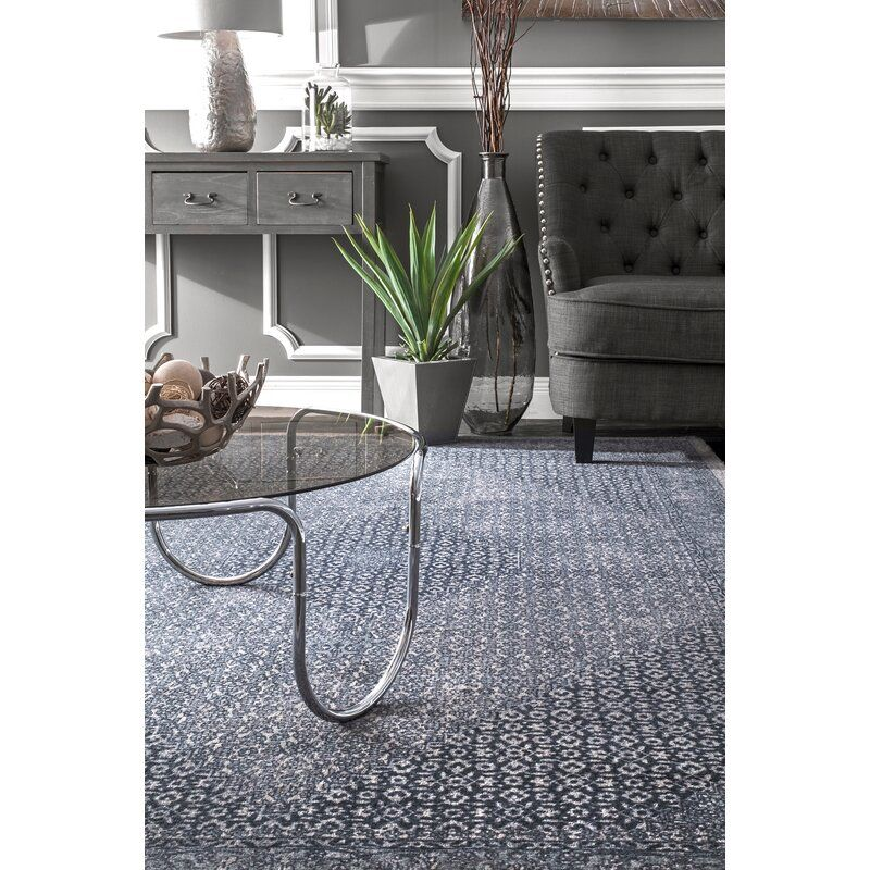 Aryana Oriental Handmade Wool Blue Area Rug Reviews Joss Main Area Rugs Dark Blue Rug Rugs