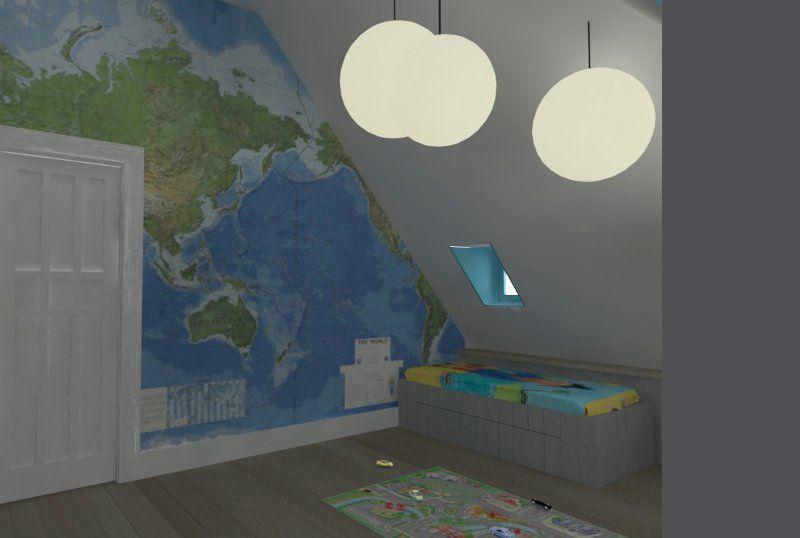 Prachtig idee voor een stoere jongenskamer jongens kamer pinterest jongens amsterdam en doors - Tapijt idee voor volwassen kamer ...