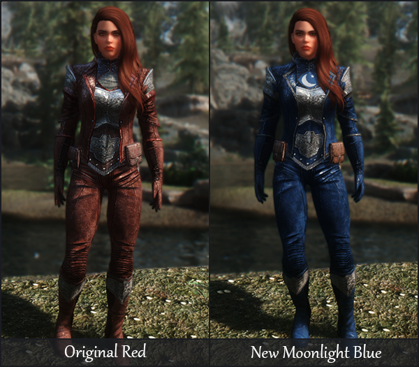 Legendary Armor Conversions and Recolors at Skyrim Special Edition