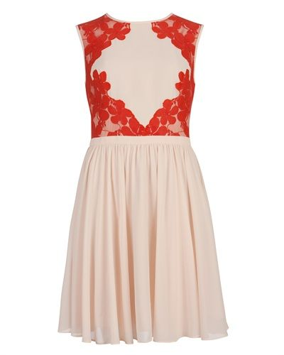 Ted Baker - VEMBER - Lace colour block dress