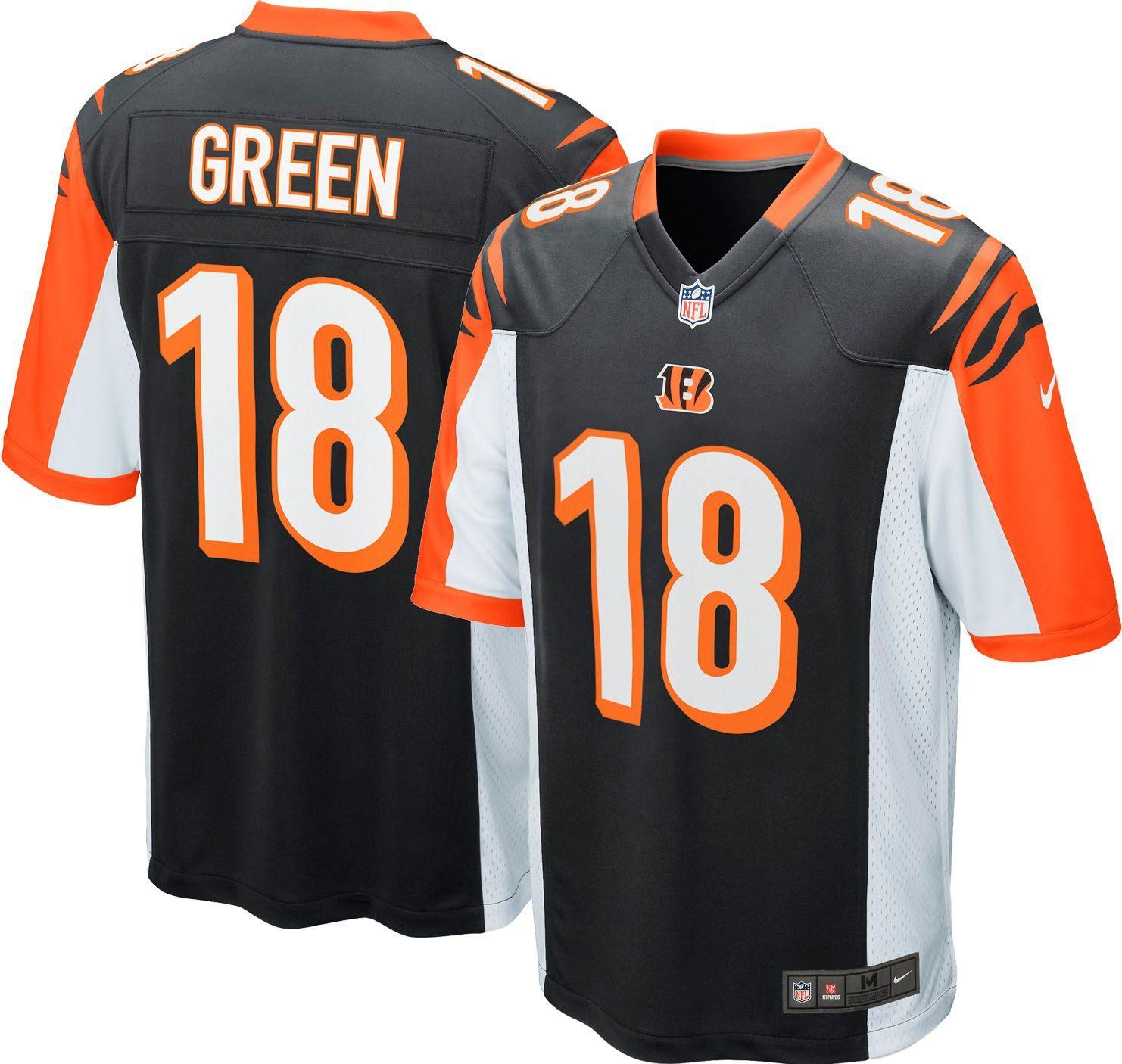 873750f7 Nike Youth Home Game Jersey Cincinnati A.J. Green #18, Kids Unisex ...