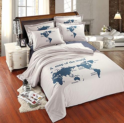 Travel inspired bedroom decor ideas bedrooms and room travel inspired bedroom decor ideas gumiabroncs Gallery