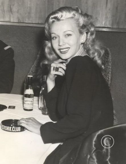 Carole Landis - 40's Film Actress. Successful onscreen, but off-screen, her life was a mess. She entered into a series of doomed relationships & marriages. Her last relationship was a romance with actor Rex Harrison, who was then married to actress Lilli Palmer. Landis was reportedly crushed when Harrison refused to divorce his wife for her. Unable to cope any longer, she committed suicide in her Pacific Palisades home at 1465 Capri Drive by taking an overdose of Seconal. She was only 29.