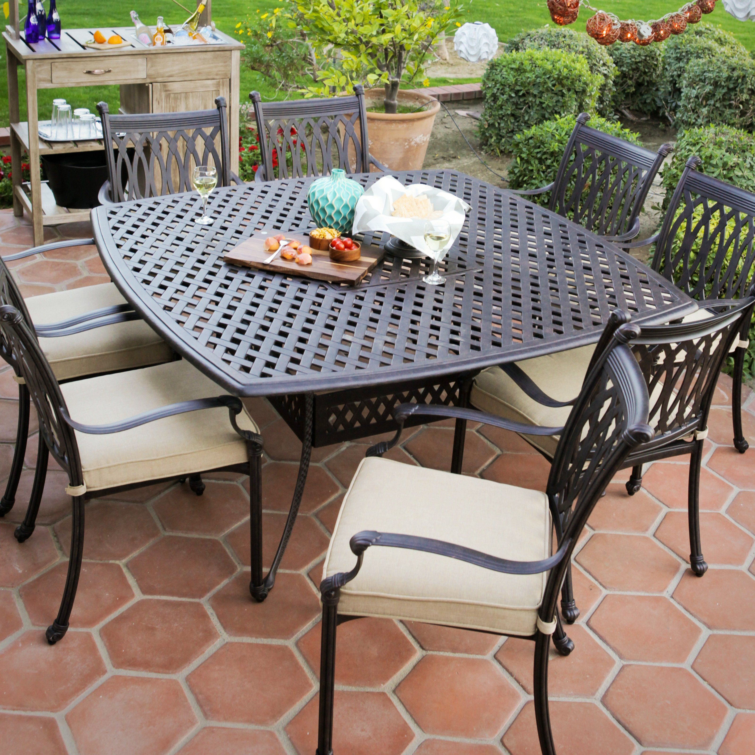 Have To Have Itpalazetto Milan Collection Cast Aluminum Patio Extraordinary Replacement Seats For Dining Room Chairs Decorating Design