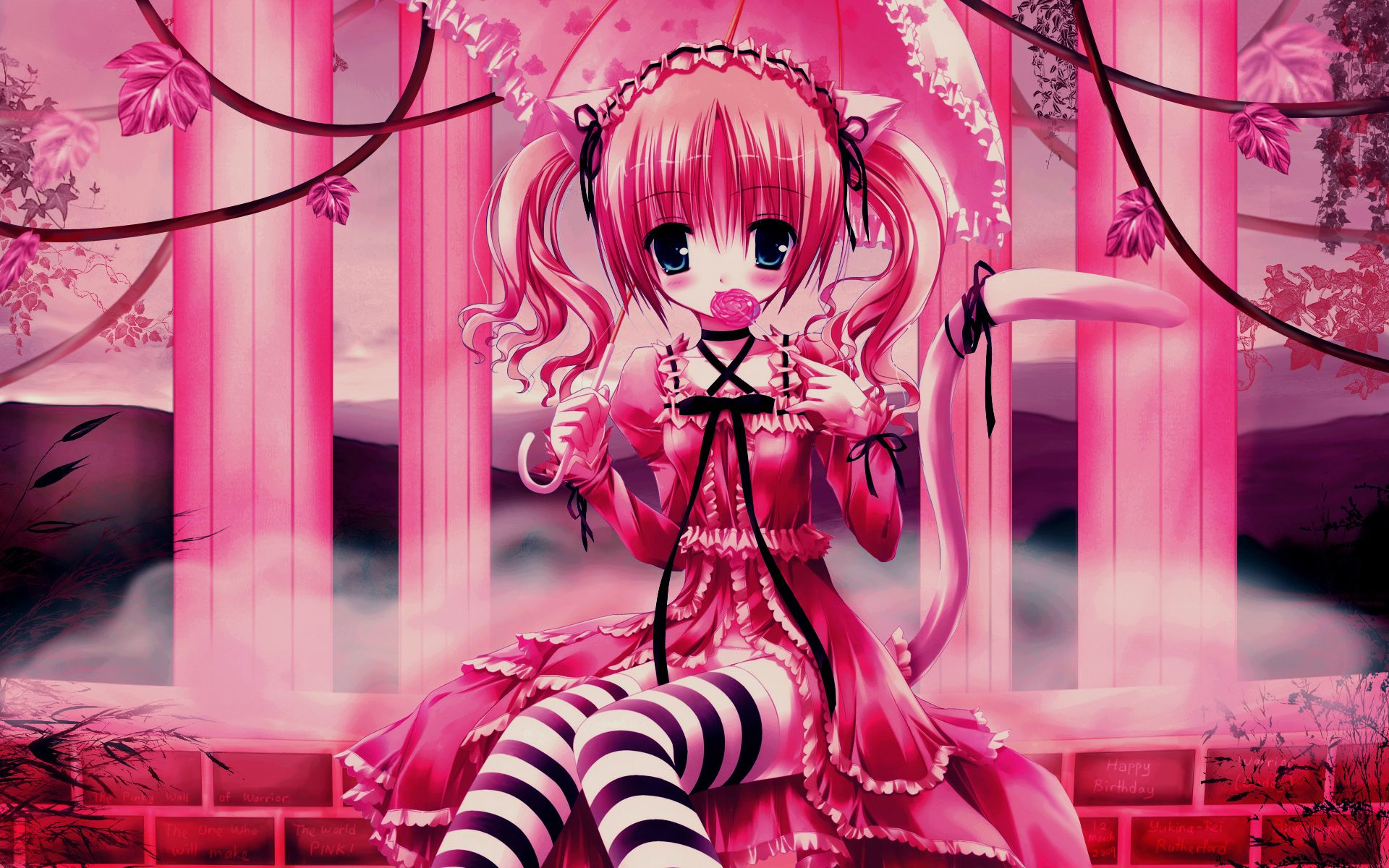 Girly anime cat girl with lollipop 00 mom of 4 gets a - Girly girl anime ...