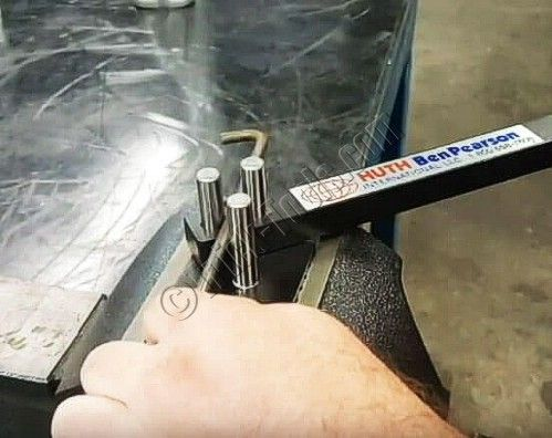 New Huth manual rod bender is great for brackets and exhaust