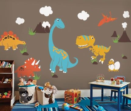 Dinosaur Wall Decal Dinosaur Wall Decals Kid Room Decor Baby
