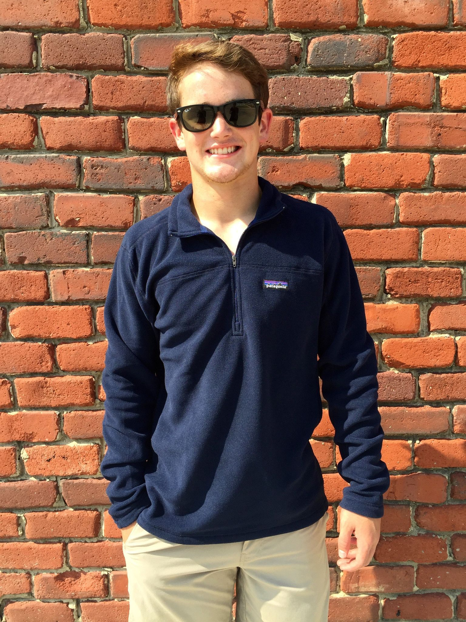 4221f580043 Patagonia Men s Micro D Fleece Pullover- Navy from Shop Southern Roots TX