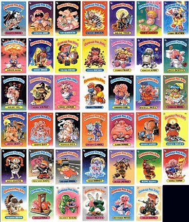 Poundart Garbage Pail Kids Garbage Pail Kids My Childhood Memories Childhood Memories